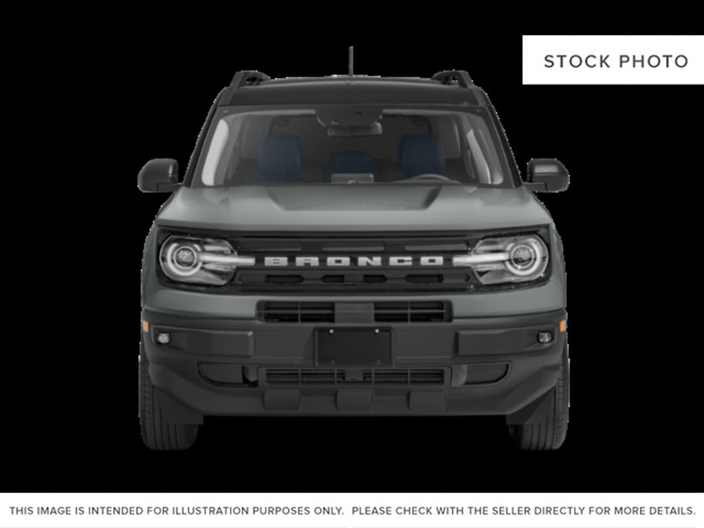 White[Oxford White] 2021 Ford Bronco Sport Front Vehicle Photo in Dartmouth NS
