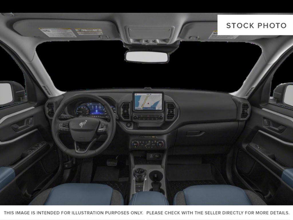 White[Oxford White] 2021 Ford Bronco Sport Central Dash Options Photo in Dartmouth NS
