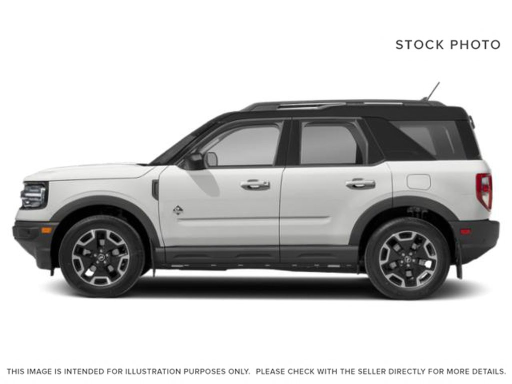 White[Oxford White] 2021 Ford Bronco Sport Left Side Photo in Dartmouth NS