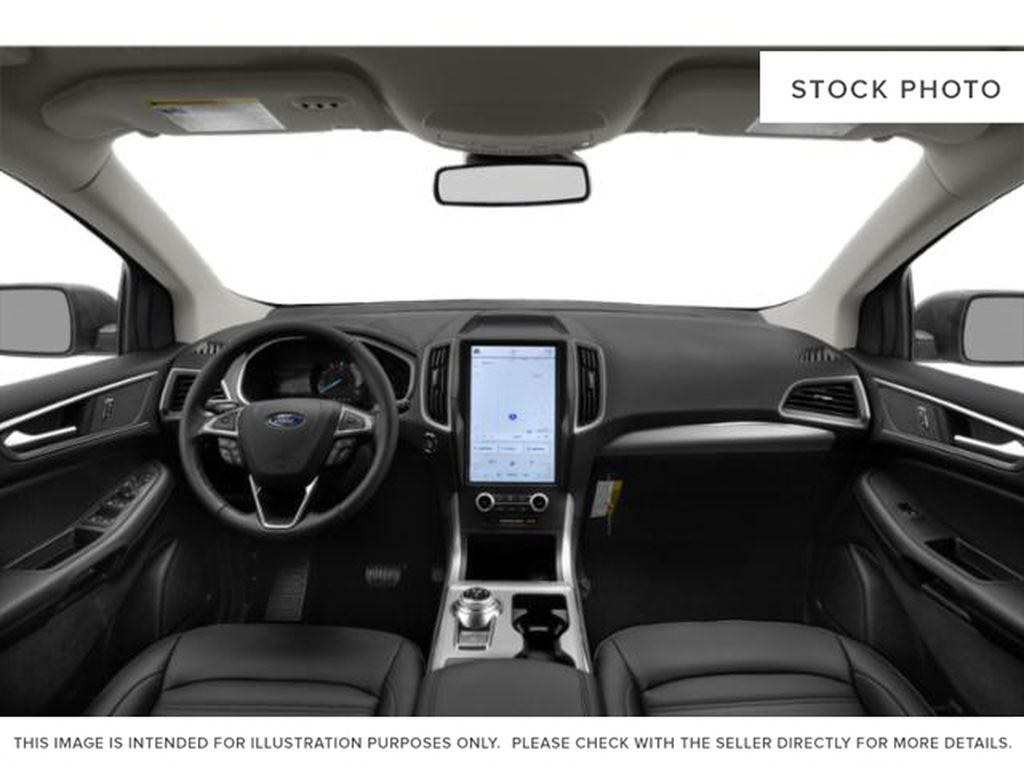 Black[Agate Black] 2021 Ford Edge Central Dash Options Photo in Dartmouth NS