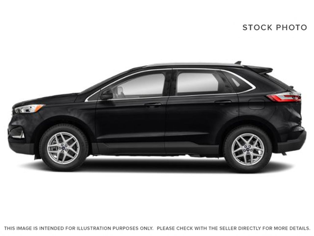 Black[Agate Black] 2021 Ford Edge Left Side Photo in Dartmouth NS