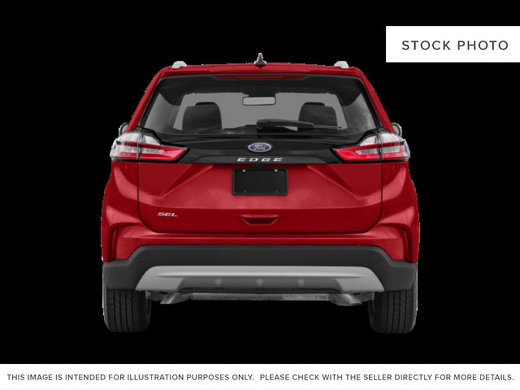 Black[Agate Black] 2021 Ford Edge Rear of Vehicle Photo in Dartmouth NS