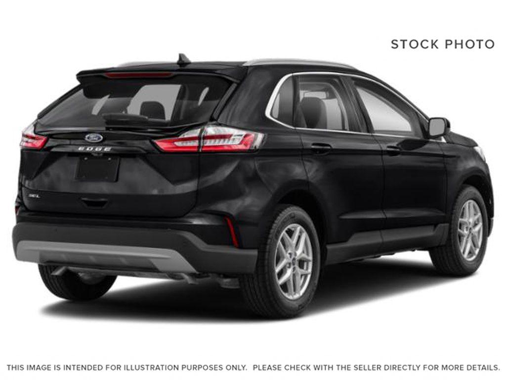 Black[Agate Black] 2021 Ford Edge Right Rear Corner Photo in Dartmouth NS