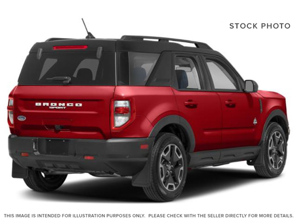 Red[Rapid Red Metallic Tinted Clearcoat] 2021 Ford Bronco Sport Right Rear Corner Photo in Dartmouth NS