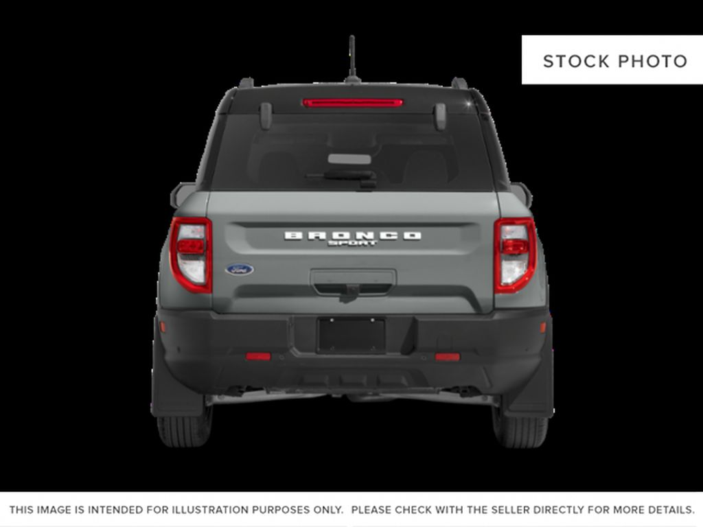 Red[Rapid Red Metallic Tinted Clearcoat] 2021 Ford Bronco Sport Rear of Vehicle Photo in Dartmouth NS