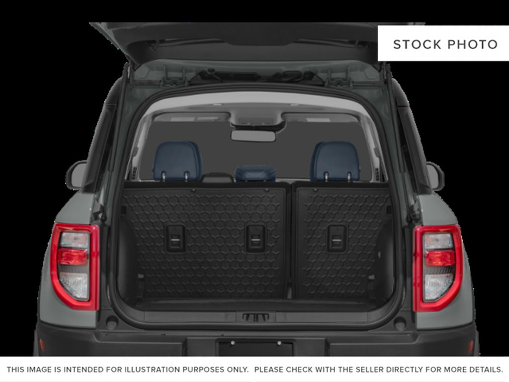 Red[Rapid Red Metallic Tinted Clearcoat] 2021 Ford Bronco Sport Trunk / Cargo Area Photo in Dartmouth NS
