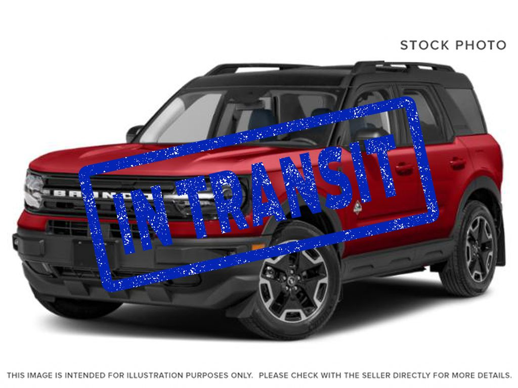 Red[Rapid Red Metallic Tinted Clearcoat] 2021 Ford Bronco Sport