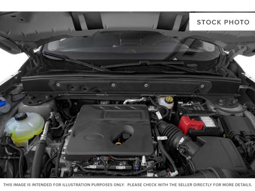 Red[Rapid Red Metallic Tinted Clearcoat] 2021 Ford Bronco Sport Engine Compartment Photo in Dartmouth NS