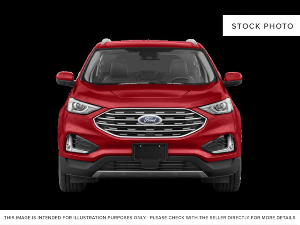 Black[Agate Black] 2021 Ford Edge Front Vehicle Photo in Dartmouth NS