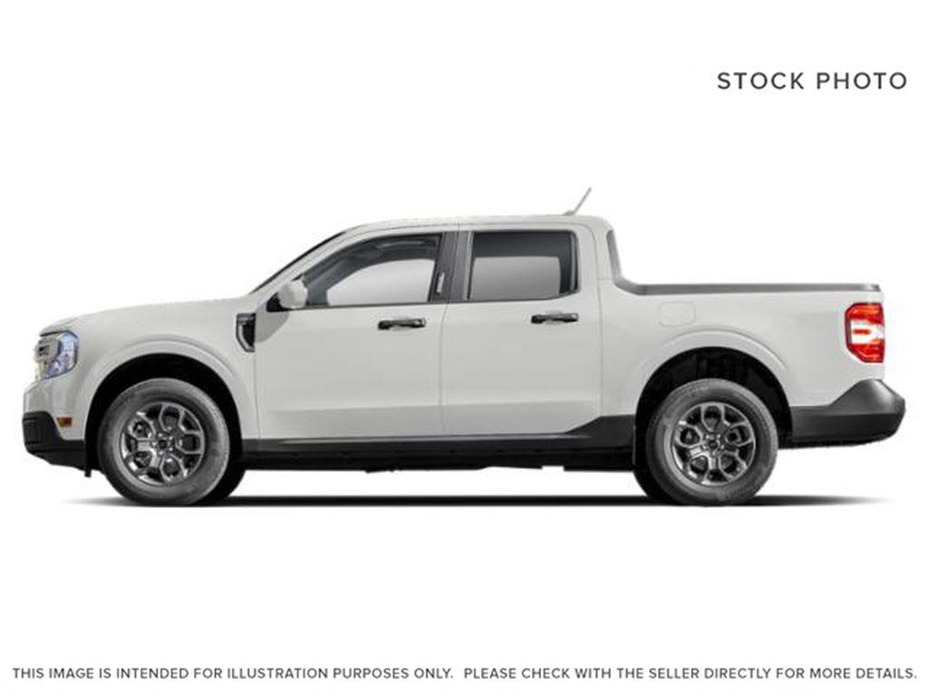 White[Oxford White] 2022 Ford Maverick Left Side Photo in Dartmouth NS