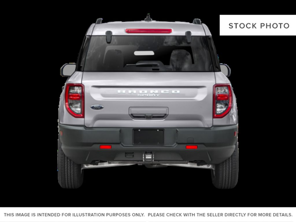 Blue[Area 51] 2021 Ford Bronco Sport Rear of Vehicle Photo in Dartmouth NS
