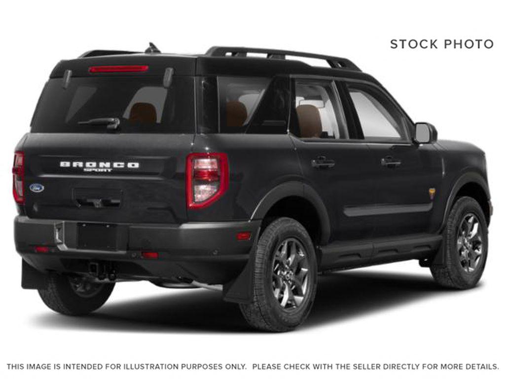 Black[Shadow Black] 2021 Ford Bronco Sport Right Rear Corner Photo in Dartmouth NS