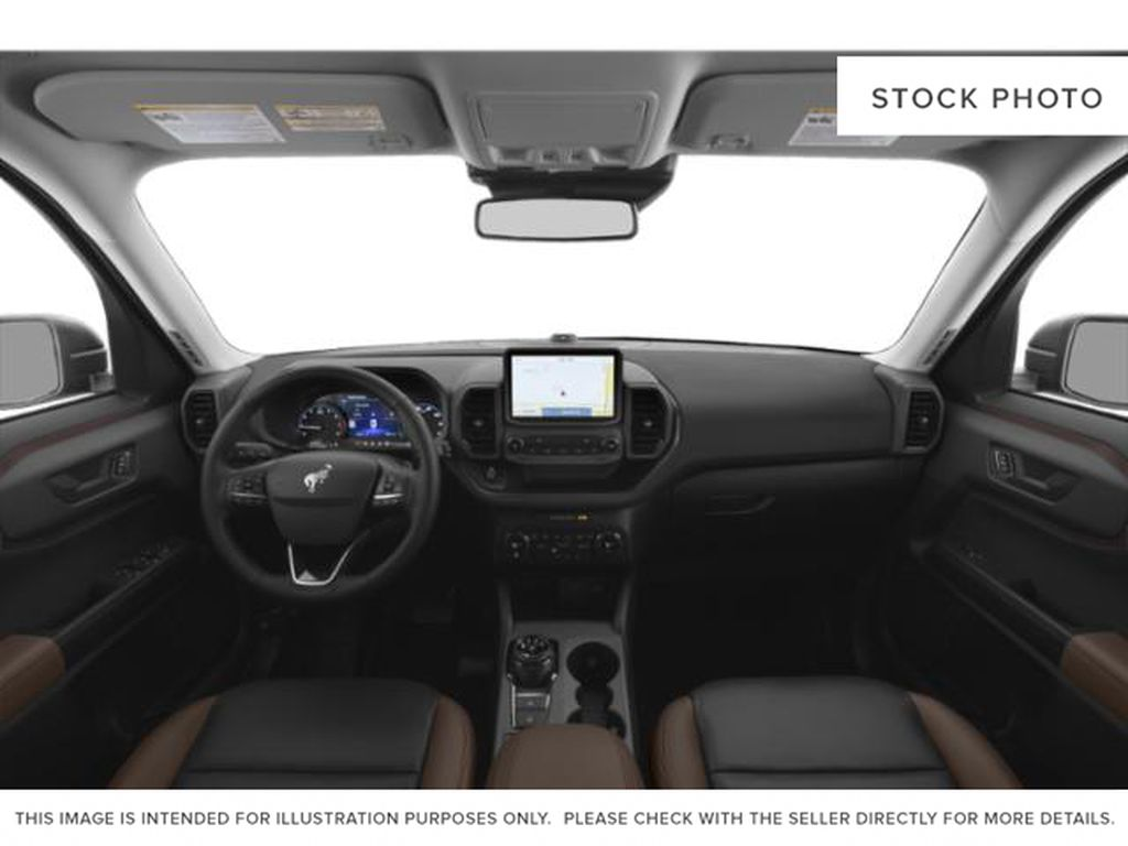 Black[Shadow Black] 2021 Ford Bronco Sport Central Dash Options Photo in Dartmouth NS
