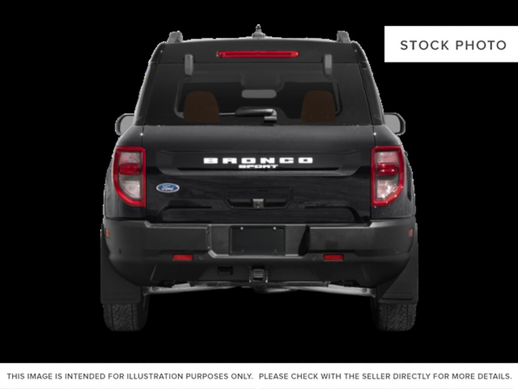 Black[Shadow Black] 2021 Ford Bronco Sport Rear of Vehicle Photo in Dartmouth NS
