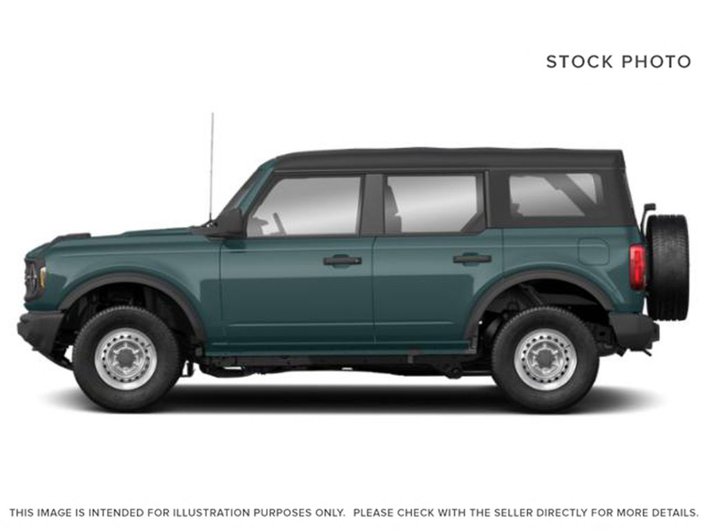 Blue[Area 51] 2021 Ford Bronco Left Side Photo in Dartmouth NS