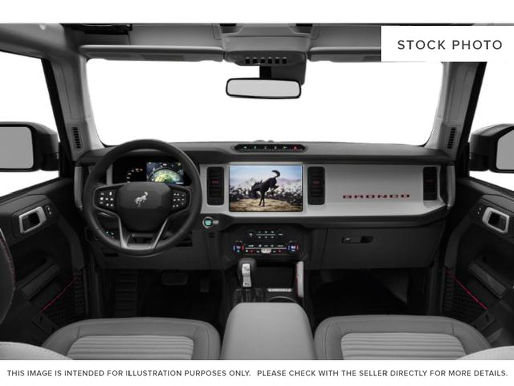 Blue[Area 51] 2021 Ford Bronco Central Dash Options Photo in Dartmouth NS