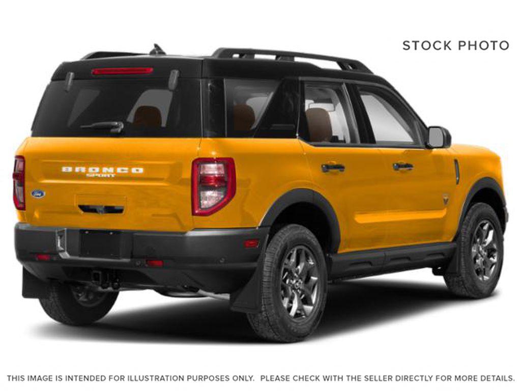 Orange[Cyber Orange Metallic Tri-Coat] 2021 Ford Bronco Sport Right Rear Corner Photo in Dartmouth NS