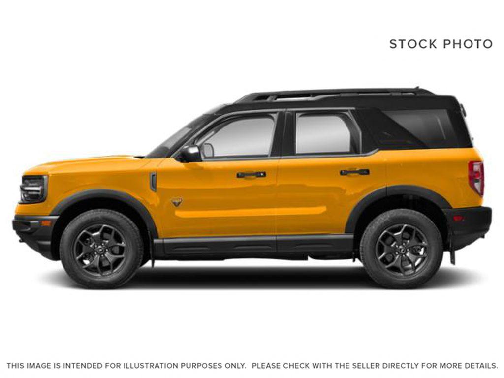 Orange[Cyber Orange Metallic Tri-Coat] 2021 Ford Bronco Sport Left Side Photo in Dartmouth NS