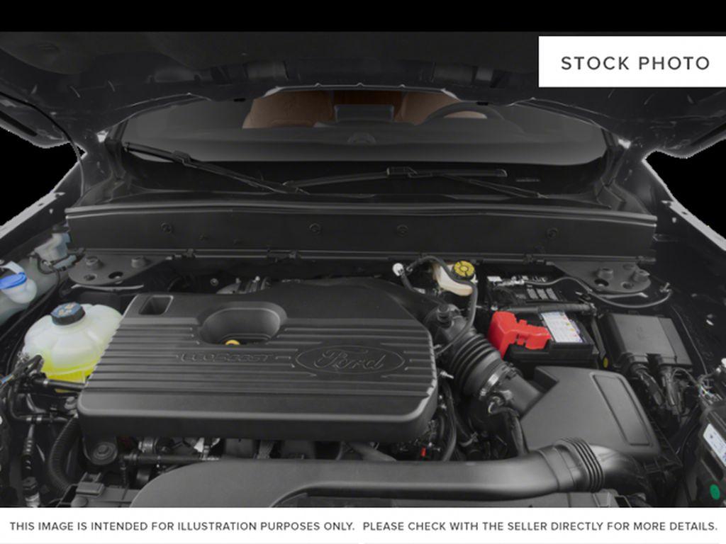 Orange[Cyber Orange Metallic Tri-Coat] 2021 Ford Bronco Sport Engine Compartment Photo in Dartmouth NS