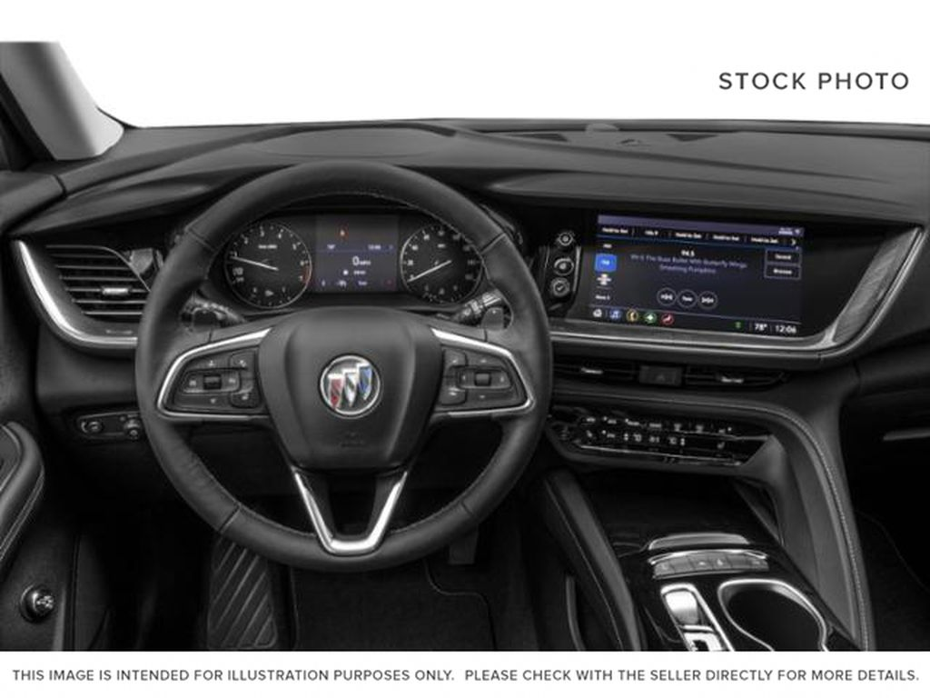2021 Buick Envision Steering Wheel and Dash Photo in Medicine Hat AB