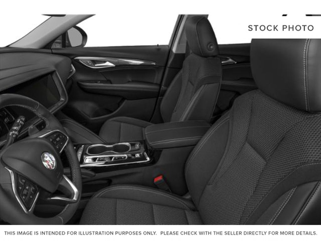 2021 Buick Envision Left Front Interior Photo in Medicine Hat AB