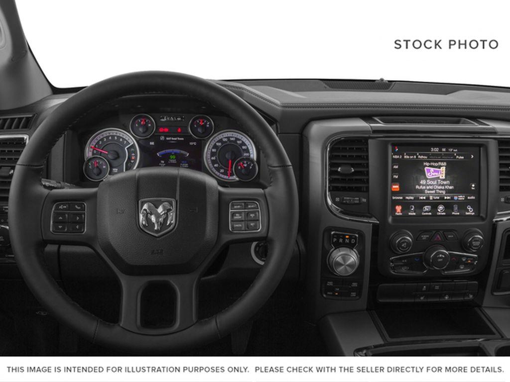 2016 Ram 1500 Steering Wheel and Dash Photo in Medicine Hat AB