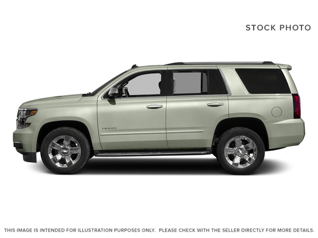 White[Iridescent Pearl Tricoat] 2017 Chevrolet Tahoe Left Side Photo in Fort Macleod AB