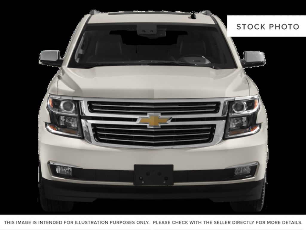 White[Iridescent Pearl Tricoat] 2017 Chevrolet Tahoe Front Vehicle Photo in Fort Macleod AB