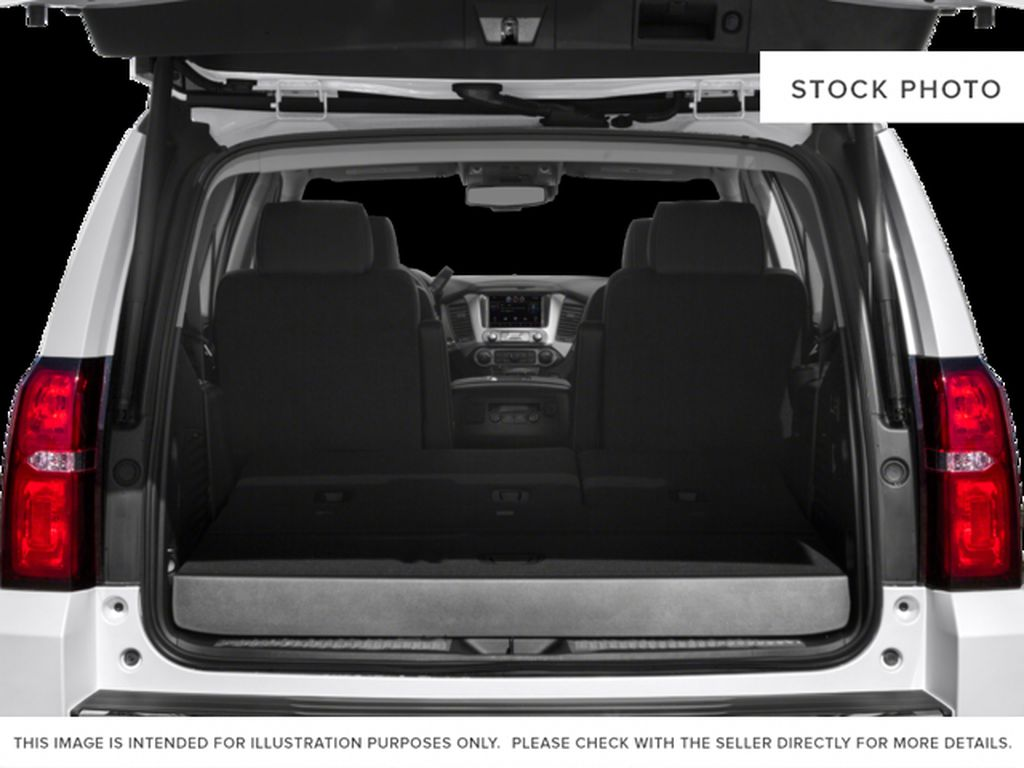 White[Iridescent Pearl Tricoat] 2017 Chevrolet Tahoe Trunk / Cargo Area Photo in Fort Macleod AB