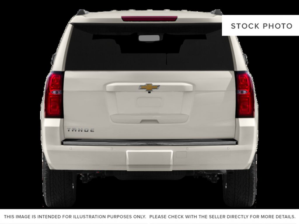White[Iridescent Pearl Tricoat] 2017 Chevrolet Tahoe Rear of Vehicle Photo in Fort Macleod AB