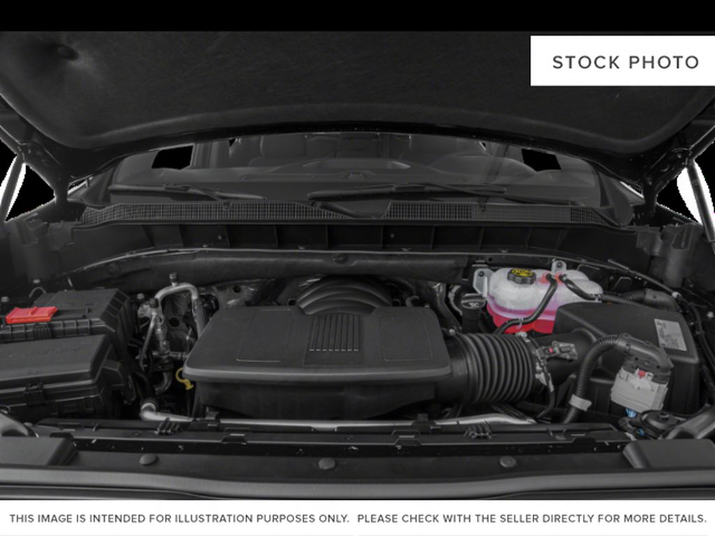 Black[Black] 2020 Chevrolet Silverado 1500 Engine Compartment Photo in Fort Macleod AB