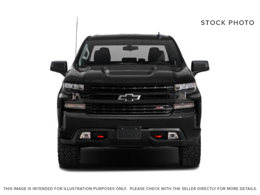 Black[Black] 2020 Chevrolet Silverado 1500 Front Vehicle Photo in Fort Macleod AB