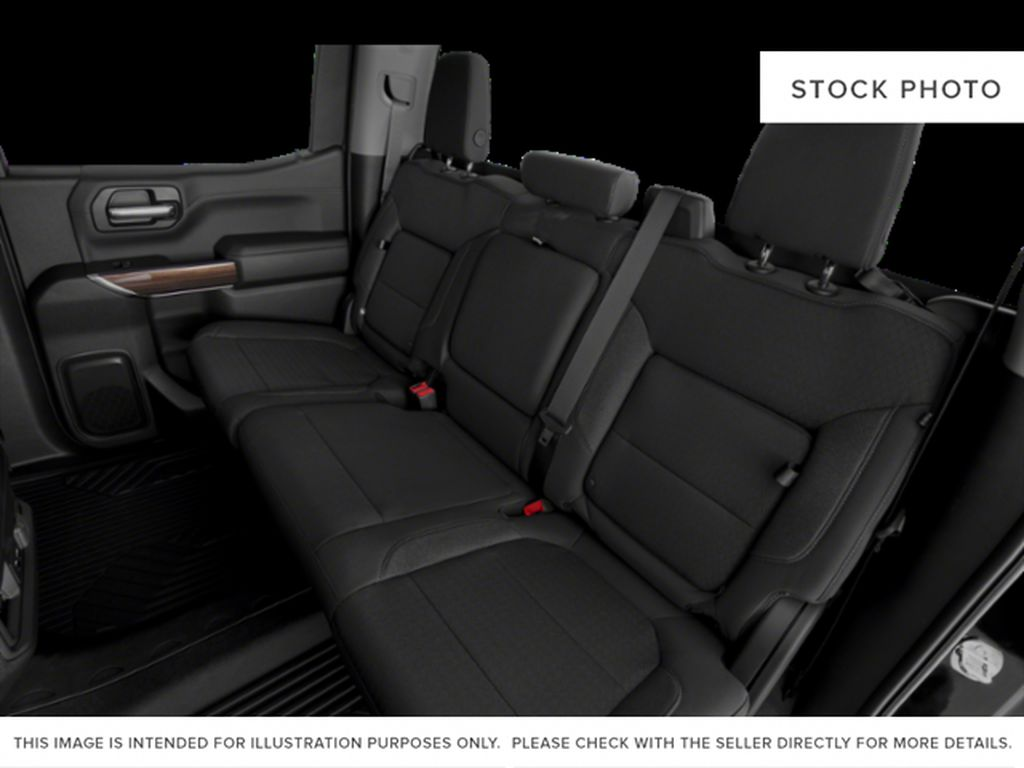 Black[Black] 2020 Chevrolet Silverado 1500 Left Side Rear Seat  Photo in Fort Macleod AB