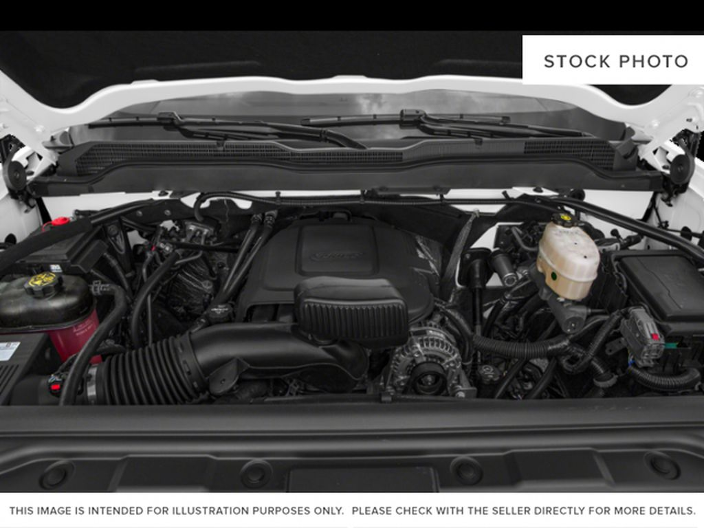 White[Iridescent Pearl Tricoat] 2019 Chevrolet Silverado 2500HD Engine Compartment Photo in Fort Macleod AB