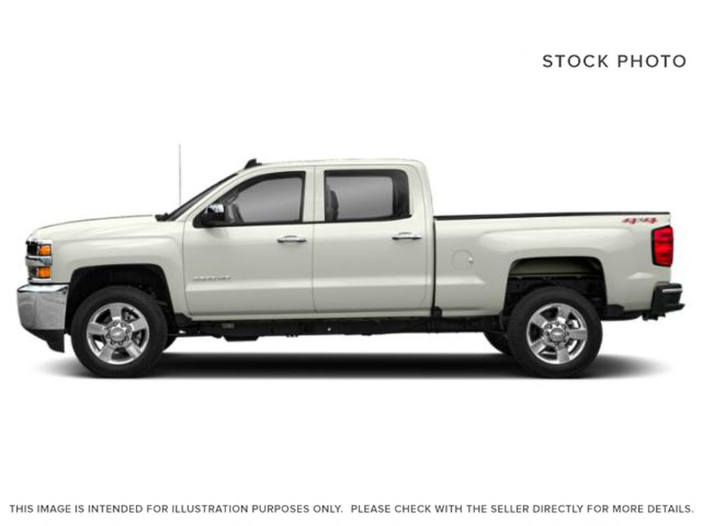 White[Iridescent Pearl Tricoat] 2019 Chevrolet Silverado 2500HD Left Side Photo in Fort Macleod AB