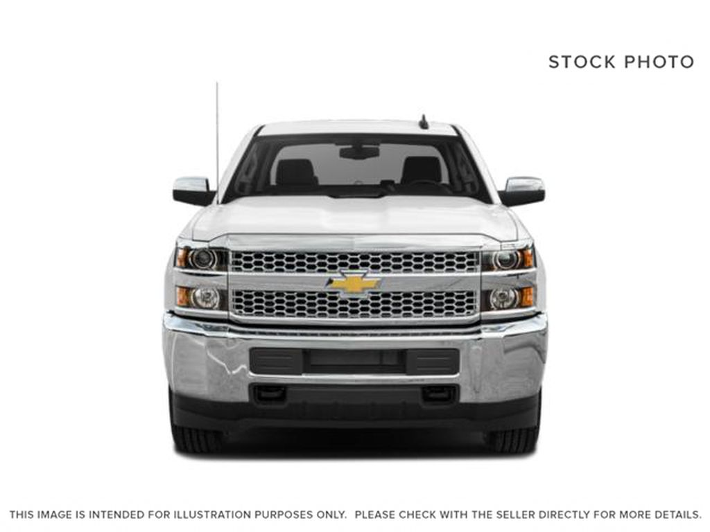White[Iridescent Pearl Tricoat] 2019 Chevrolet Silverado 2500HD Front Vehicle Photo in Fort Macleod AB