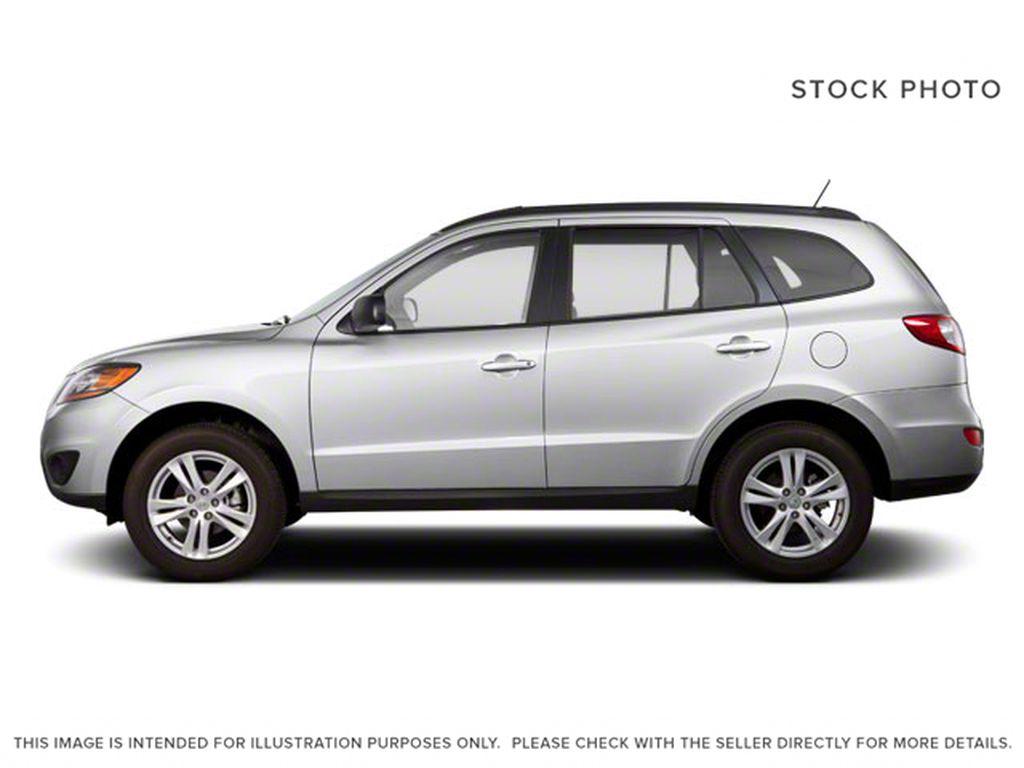 Silver[Moonstone Silver Metallic] 2012 Hyundai Santa Fe Left Side Photo in Ottawa ON
