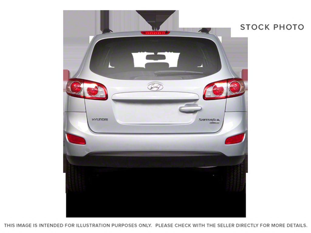 Silver[Moonstone Silver Metallic] 2012 Hyundai Santa Fe Rear of Vehicle Photo in Ottawa ON
