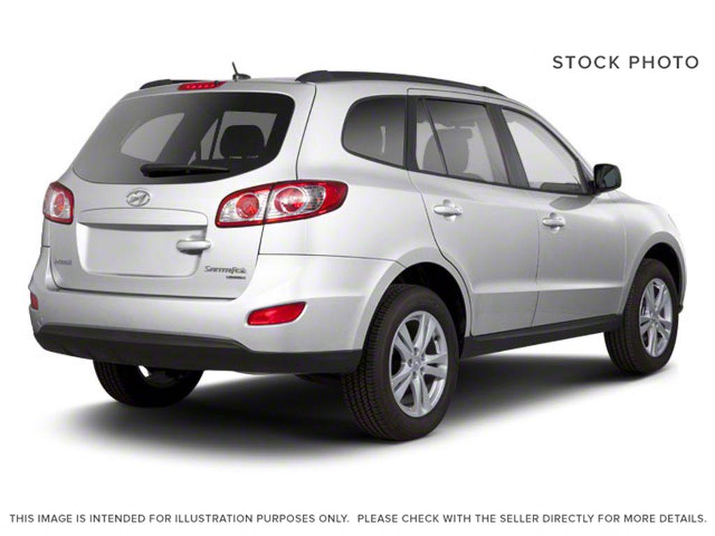 Silver[Moonstone Silver Metallic] 2012 Hyundai Santa Fe Right Rear Corner Photo in Ottawa ON