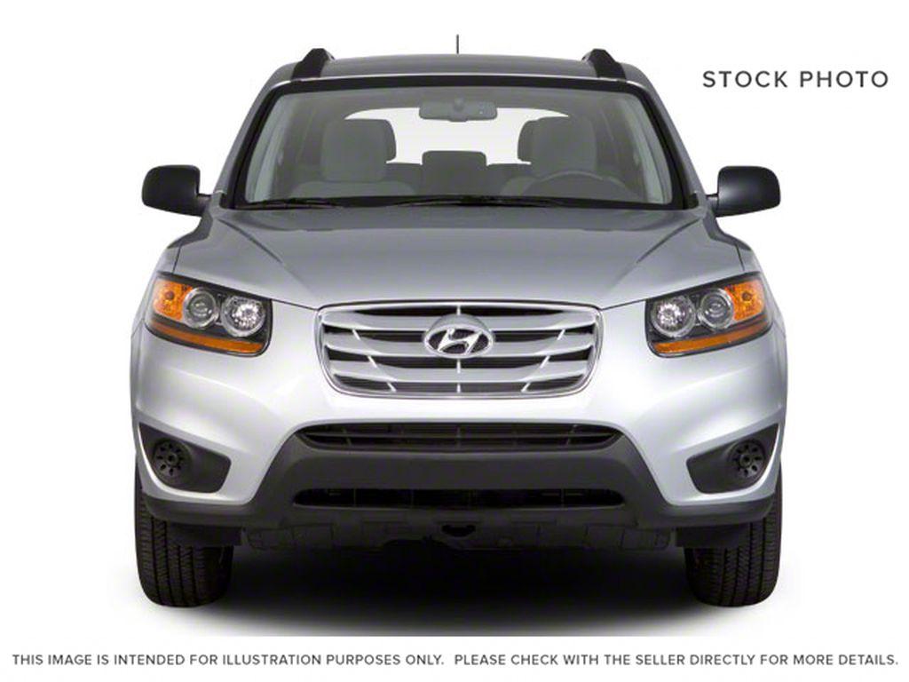 Silver[Moonstone Silver Metallic] 2012 Hyundai Santa Fe Front Vehicle Photo in Ottawa ON