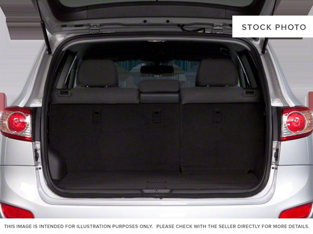 Silver[Moonstone Silver Metallic] 2012 Hyundai Santa Fe Trunk / Cargo Area Photo in Ottawa ON
