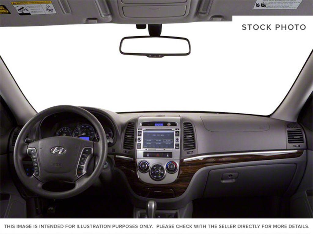 Silver[Moonstone Silver Metallic] 2012 Hyundai Santa Fe Strng Wheel/Dash Photo: Frm Rear in Ottawa ON