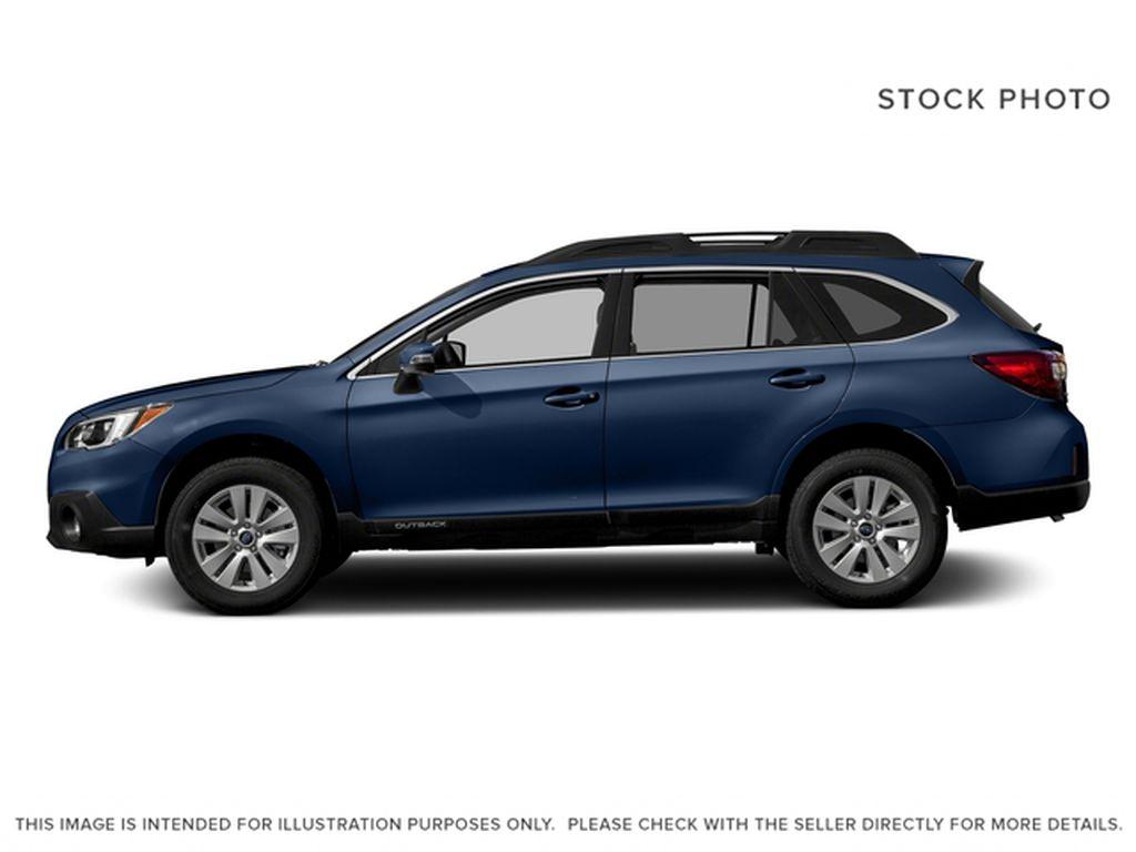 Blue[Lapis Blue Pearl] 2017 Subaru Outback Left Side Photo in Lethbridge AB