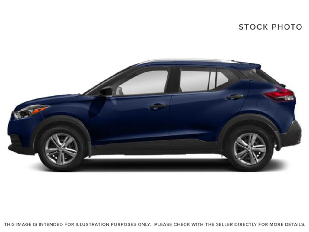 Blue[Deep Blue Pearl] 2018 Nissan Kicks Left Side Photo in Lethbridge AB
