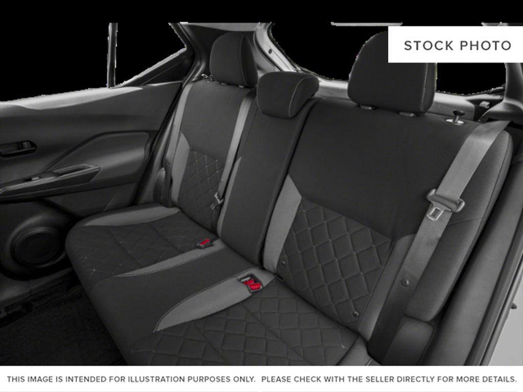Blue[Deep Blue Pearl] 2018 Nissan Kicks Left Side Rear Seat  Photo in Lethbridge AB