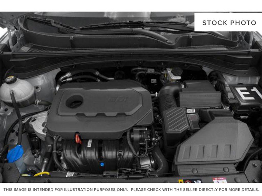 Black[Black Cherry] 2021 Kia Sportage Engine Compartment Photo in Lethbridge AB