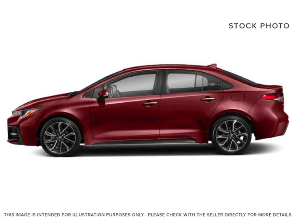 Red[Ruby Flare Pearl] 2022 Toyota Corolla Left Front Rim and Tire Photo in Brockville ON