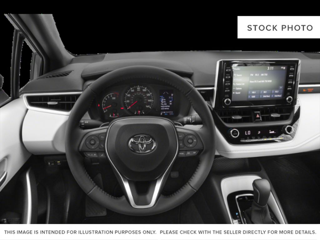 Red[Ruby Flare Pearl] 2022 Toyota Corolla Left Front Interior Photo in Brockville ON