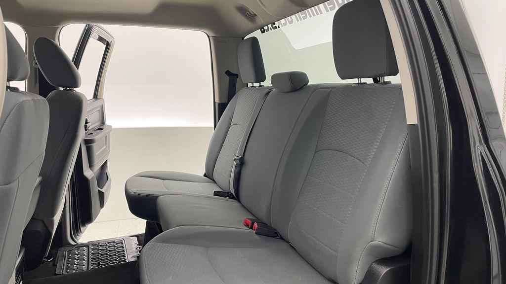 Green[Black Forest Green Pearl] 2016 Ram 1500 SXT 4WD - Crew Cab, 8 Speed Transmission, 3.6L V6 Left Side Rear Seat  Photo in Winnipeg MB