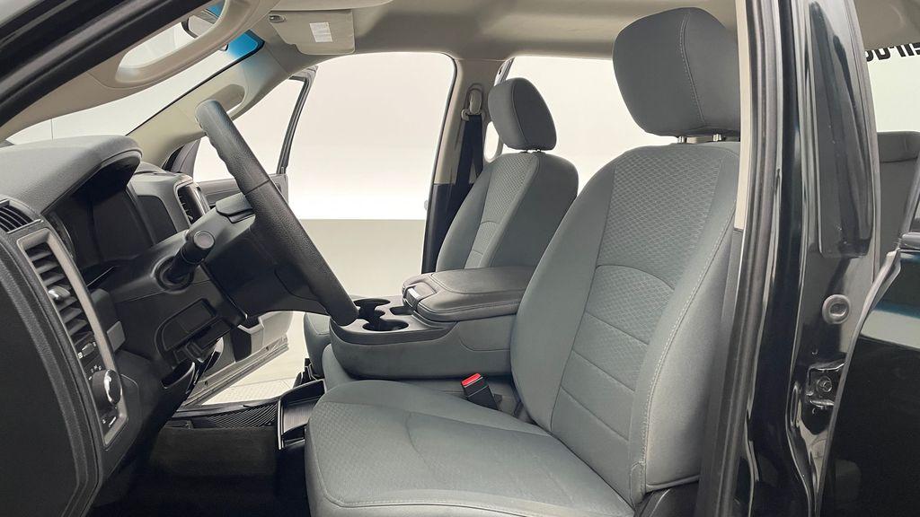 Green[Black Forest Green Pearl] 2016 Ram 1500 SXT 4WD - Crew Cab, 8 Speed Transmission, 3.6L V6 Left Front Interior Photo in Winnipeg MB